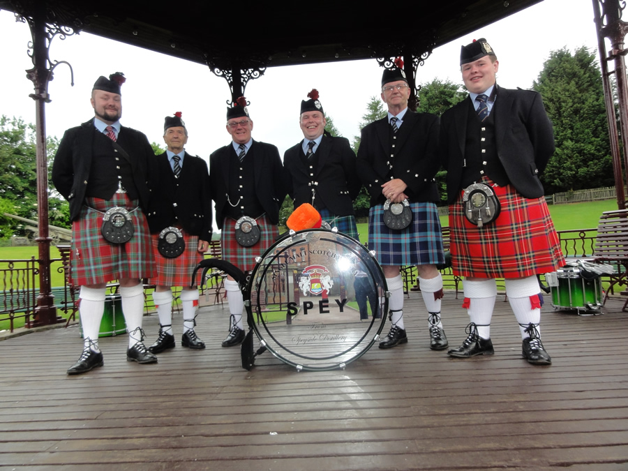 Pipe Band Bannerstand